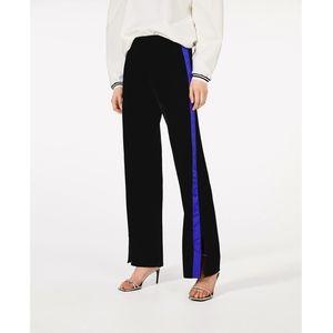 NWT Zara velvet trousers tuxedo style - Medium